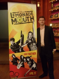 Lemonade Mouth author Mark Peter Hughes at a special screening of LM, April 10, 2011