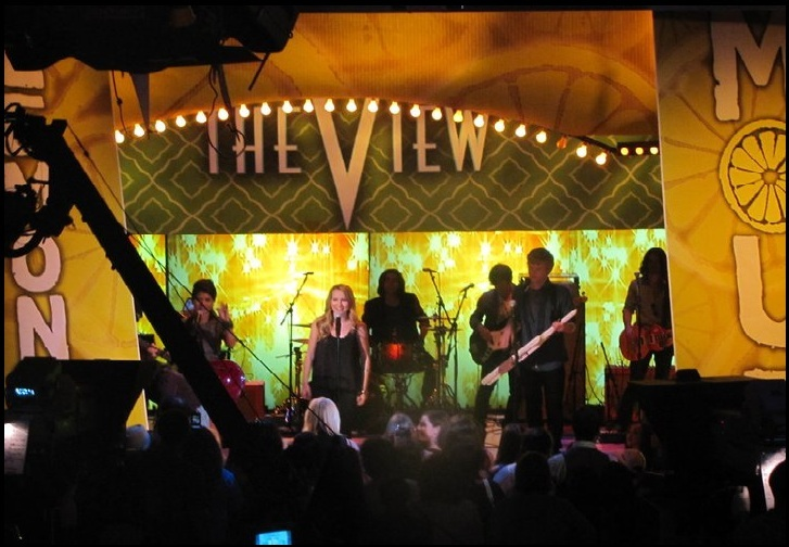 Lemonade Mouth on The View June 10, 2011