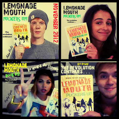 Adam Hicks Naomi Scott Hayley Kiyoko Chris Brochu Lemonade Mouth Pu